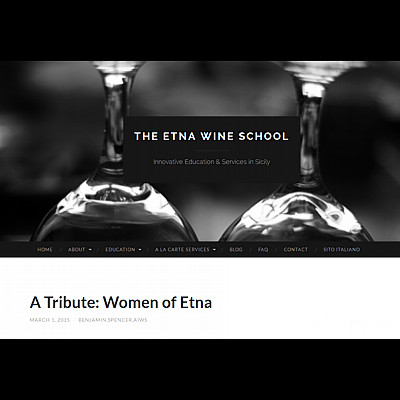 The Etna Wine School, A Tribute: Women of Etna, March 1, 2015